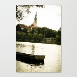 we'll all float on from here Canvas Print