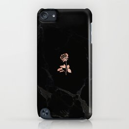 Forever Petal (Black Rose) iPhone Case