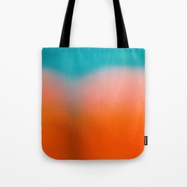 Red Water Tote Bag