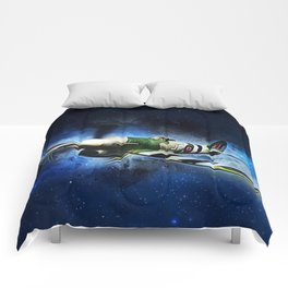 Spitfire Night Flight Comforters