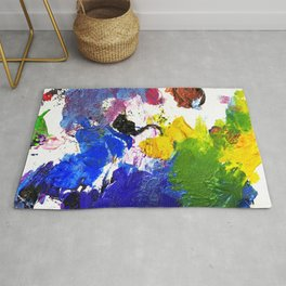 Metallic Infusion Rug