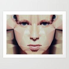 Facet_EF2 Art Print