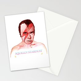 Squiggy Stardust Stationery Cards