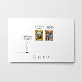 Fine Art Metal Print