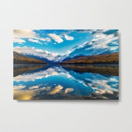 Lake McDonald National Park Landscape Metal Print