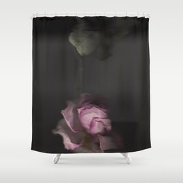 Rose Scan Shower Curtain