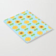Kawaii Sunflowers Notebook