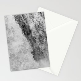 The hidden waterfall Stationery Cards