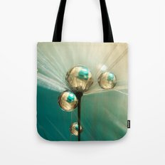Dandy with Drops of Gold and Jade Tote Bag