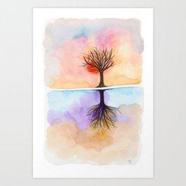As Above So Below No19 Art Print