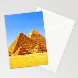The Pyramids At Giza Stationery Cards