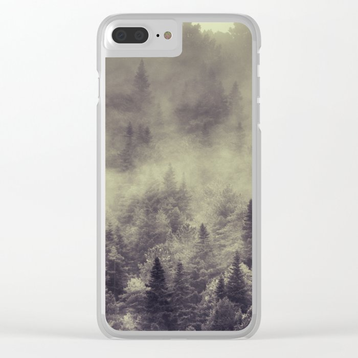 """""""Into the woods"""" Love the forests Clear iPhone Case"""