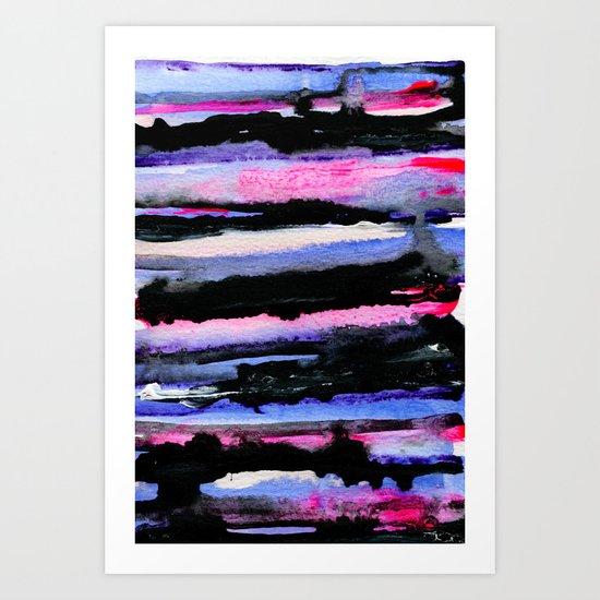 Layers 02 Art Print