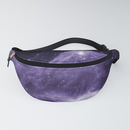 Cassiopeia Constellation Mountains of Creation Galaxy Space Ultraviolet Fanny Pack