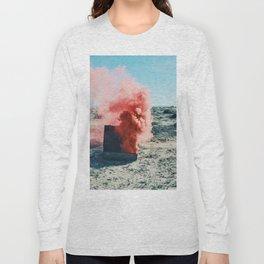 PINK SMOKE - SUIT CASE Long Sleeve T-shirt
