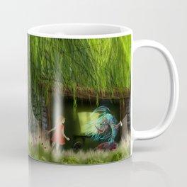 Der Fisch im Fischschuppen Coffee Mug