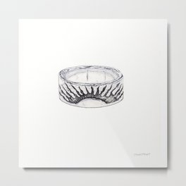 Agostino's Ring Metal Print