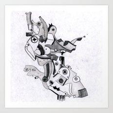metal elbow Art Print