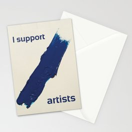 I Support Artists T-Shirt and Stationery Cards Stationery Cards