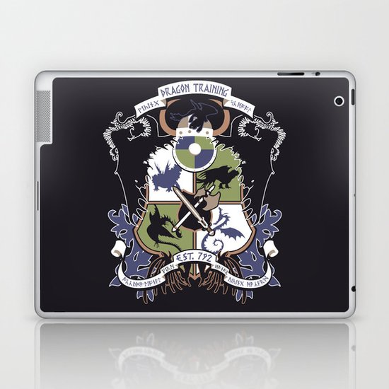 Dragon Training Crest - How to Train Your Dragon Laptop & iPad Skin