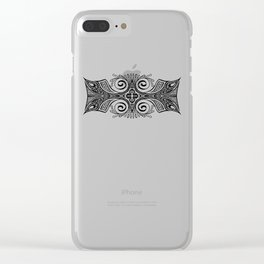 Bejeweled Lines Clear iPhone Case