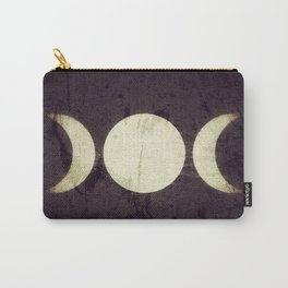 Triple Moon Goddess Carry-All Pouch