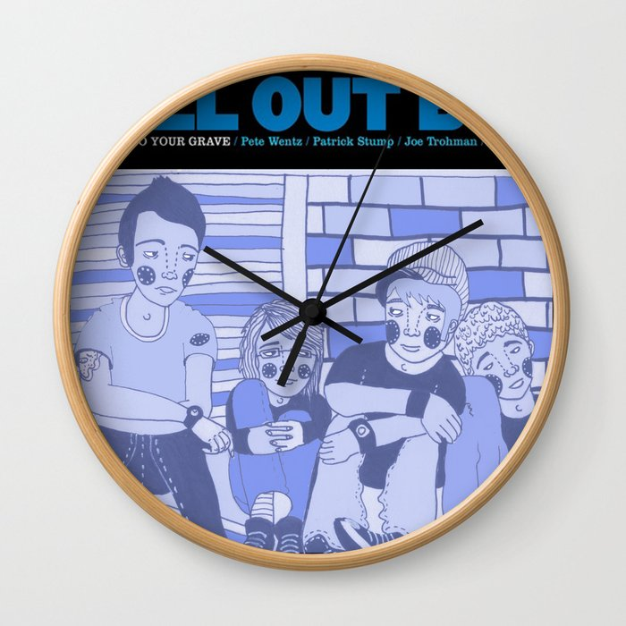 Take This To Your Grave. Wall Clock