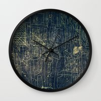 cinema Wall Clocks featuring ENGRAVE CINEMA by AMULET