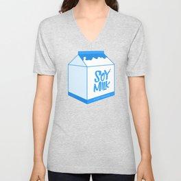 soy milk Unisex V-Neck