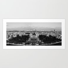 PARISIAN PANORAMA. Art Print