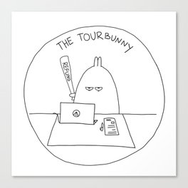 The TourBunny - Refund Canvas Print