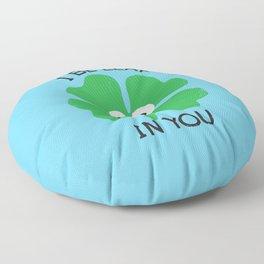 Cloverwhelming Support Floor Pillow