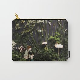 Bridie and the Robins in the Forest of Shamrocks Carry-All Pouch