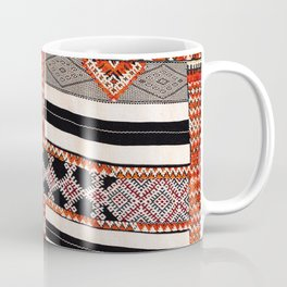 Ait Ouaouzguite South Morocco North African Mixed Technique Rug Coffee Mug