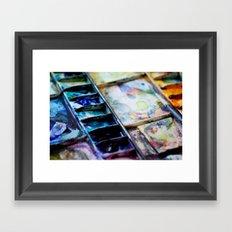 Watercolors Framed Art Print