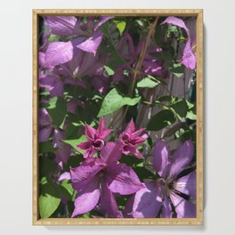 Clematis Serving Tray