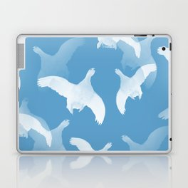 White Birds Against The Blue Sky #decor #society6 #homedecor Laptop & iPad Skin