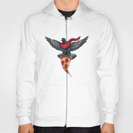 Pigeon with Pizza Hoody