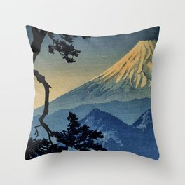 Seeing Far Within at Yonu Throw Pillow