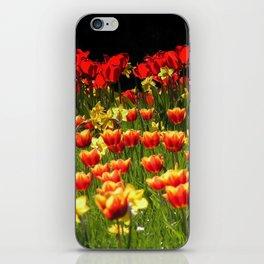 Tulpenwiese iPhone Skin