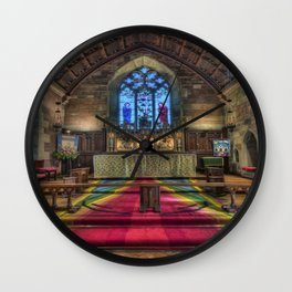 Evening Prayer Wall Clock
