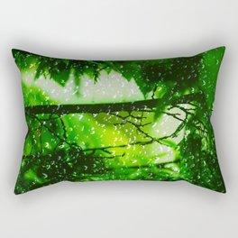 Raindrops falling in love Rectangular Pillow