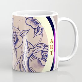 Design by Steph Darling at The Nines Tattoo and Art Parlor  Coffee Mug