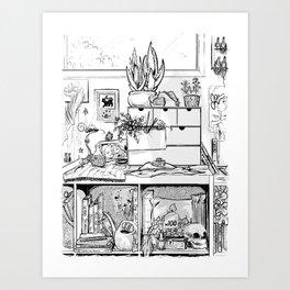 The Modern Witch's Studio Art Print