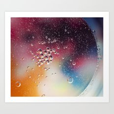 Bubble Power Art Print