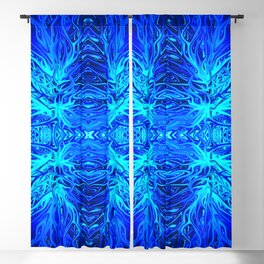 Electric Ocean Sunset by Chris Sparks Blackout Curtain