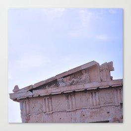 Parthenon Pediment Canvas Print
