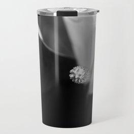 Black and White Calla-lily Travel Mug