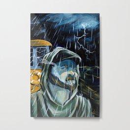 Tug boat Cap Metal Print