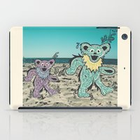 grateful dead iPad Cases featuring Grateful Dead Beach Cruise by Charlotte hills